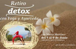 Retiro DETOX con yoga y ayurveda